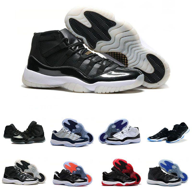 detailed look 66e23 f8481 Großhandel 2018 Nike Air Jordan 11 Retro Space Jam Basketball shoes Neue 11  Gym Red Chicago Midnight Herren Freizeitschuhe Trainer Win Wie 82 Unc Space  Jam ...
