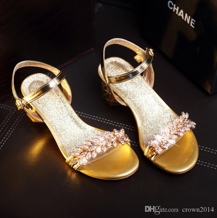 847799080 2018 Luxury Crystal Fashion Gold Women Sandals Designer Flip Flops For  Women Slippers Rhinestone Summer Beach Wedding Shoes For Bride Blue Wedding  Flats ...