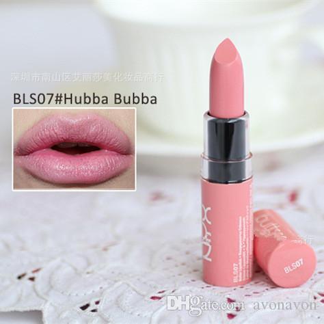 NYX Beurre Mat Rouge À Lèvres 12 Couleurs Batom Maquillage Longue Durée Rouge À Lèvres Teint Brillant À Lèvres Bâton Marque Maquillage b832