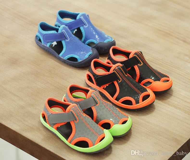 2018 D'été Enfants Garçons Sandales D'intérieur Antidérapant Sandales Fille De La Mode Chevauchement Fond épais Antidérapant Filles Plage Chaussures Pour Enfants # 14