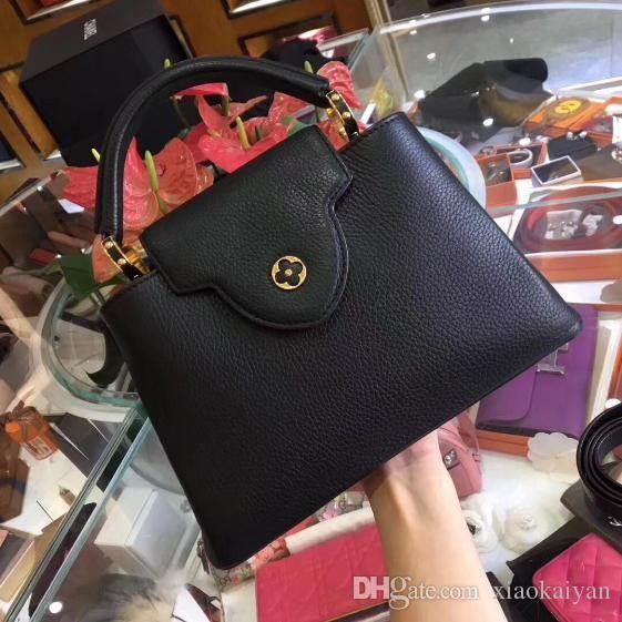 4cd38aedbb Women s Fashion Women Messenger Bag Lady Genuine Leather Handbag ...