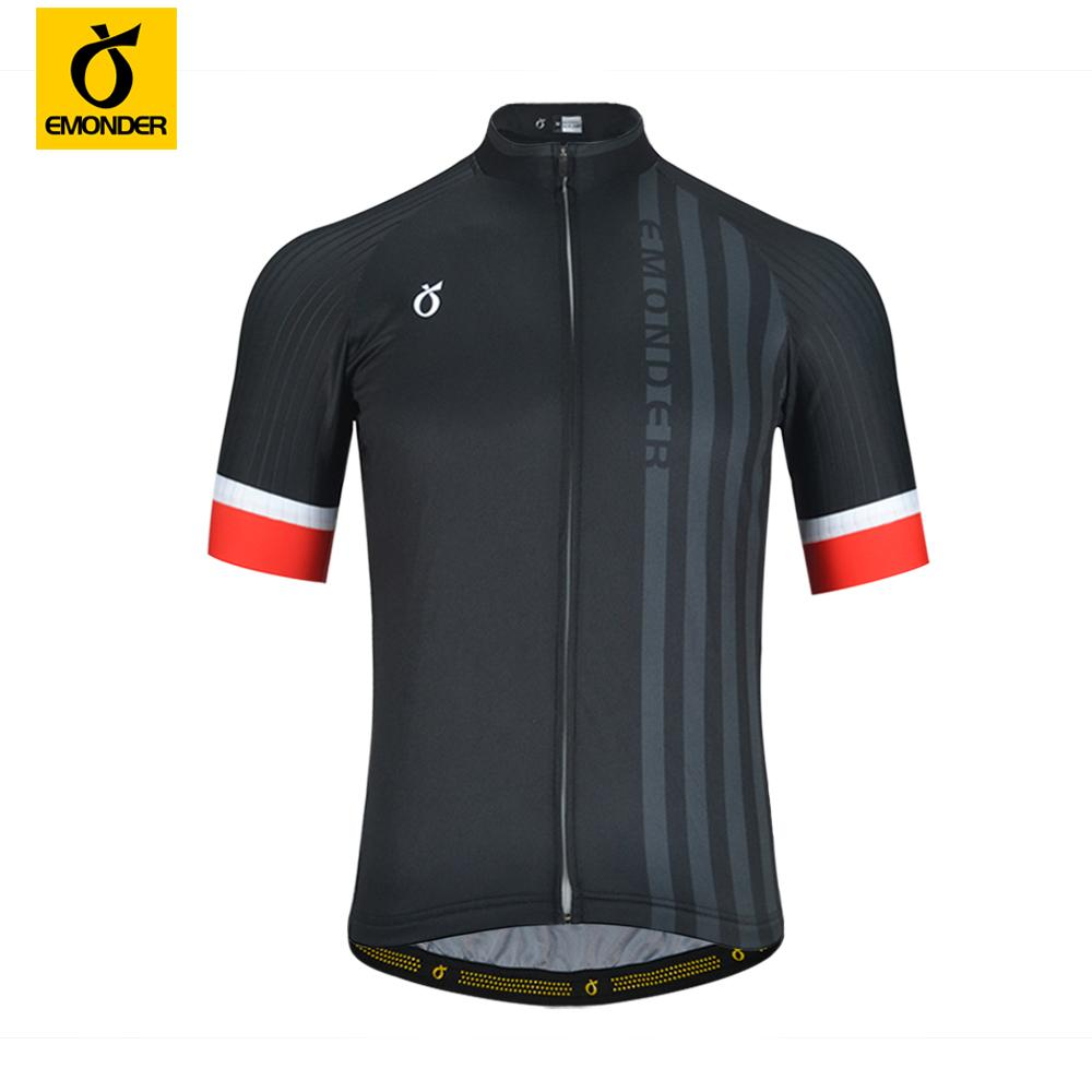2db8ce85b EMONDER New Cycling Jerseys Sport Clothe Italian Cuffs Breathable Anti  Sweat Short Sleeve Male Riding MTB Bicycle Bike Clothing Shirts Men Bike  Apparel From ...