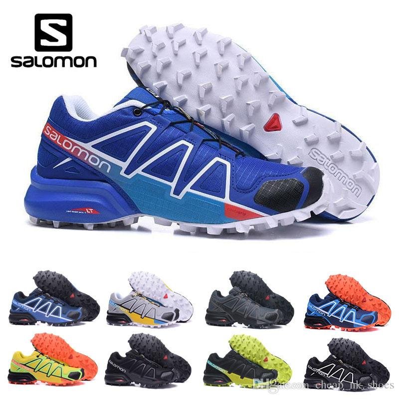 Acquista 2018 Salomon Speed Cross Country 4 CS IV Uomo Scarpe Da Corsa  Outdoor Sneakers Da Jogging Scarpe Da Atletica SpeedCross 4 Scarpe Da  Scherma Eur ... 82d287f63b4