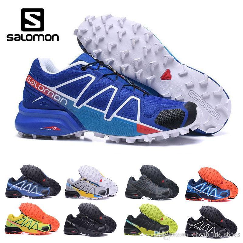 innovative design 2b33a 8770f Compre 2018 Salomon Speed Cross Country 4 CS IV Hombre Zapatillas Para  Correr Zapatillas Para Correr Al Aire Libre Zapatillas Deportivas  SpeedCross 4 ...