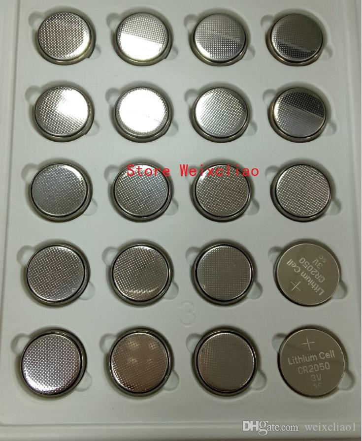 1 CR2050 3V lithium li ion button cell battery CR 2050 3 Volt li-ion coin batteries tray package
