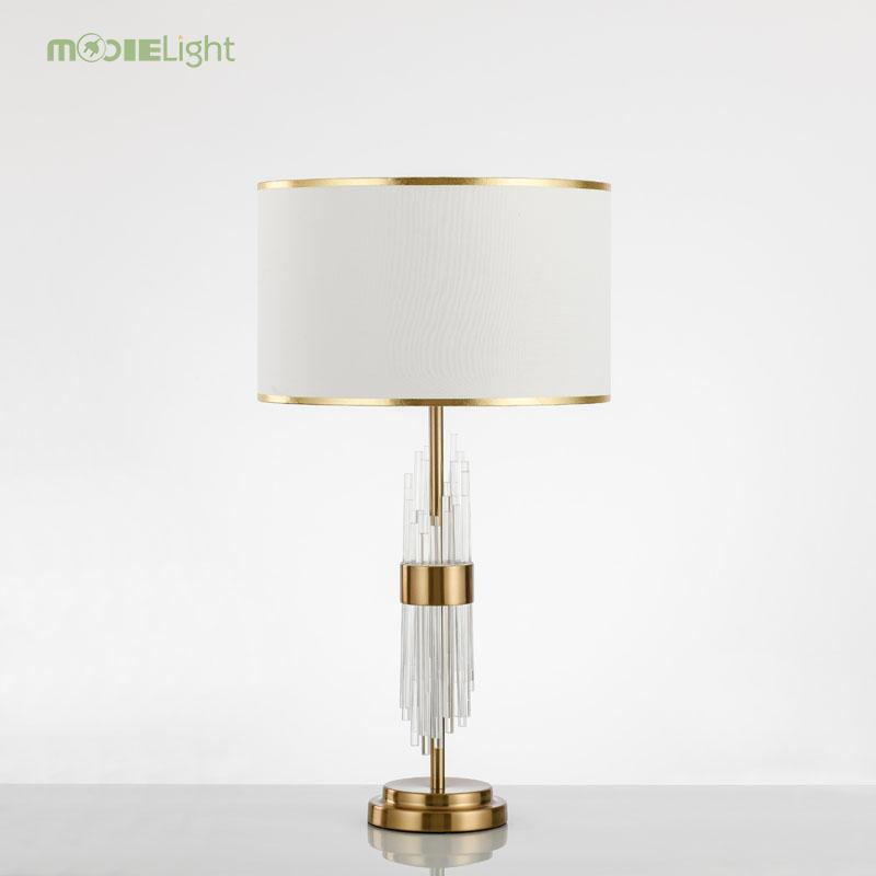 2019 Modern Glass Table Lamps Nordic Simple Bedroom Bedside Reading Desk Lamp Home Decoration LED Lights E27 Lamparas Lighting From Zhoukoulight