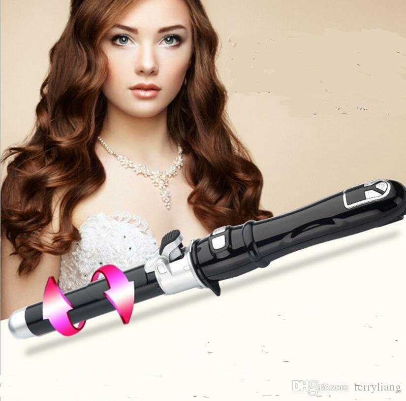 Professional Auto Rotary Electric Hair Curler Hairstyle Curling Iron