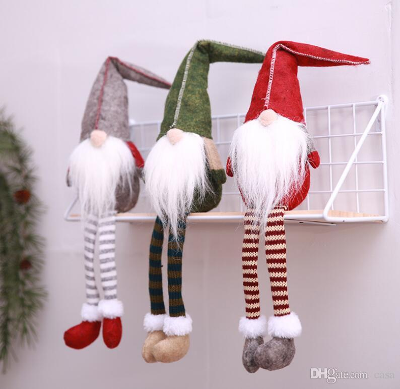 elf santa christmas decoration supplies new year dinner party xmas doll stuffed decorations for window ornaments christmas decorations buy online christmas - Christmas Decoration Catalogs