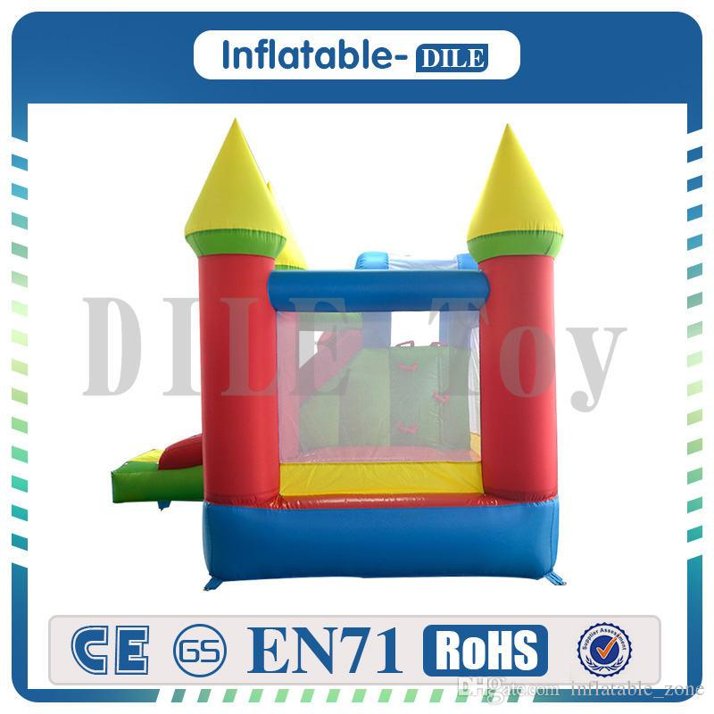 Door To Door Trampoline Bounce House Inflatable Toys 2018 Kid Jumper Castle Bouncer With Blower