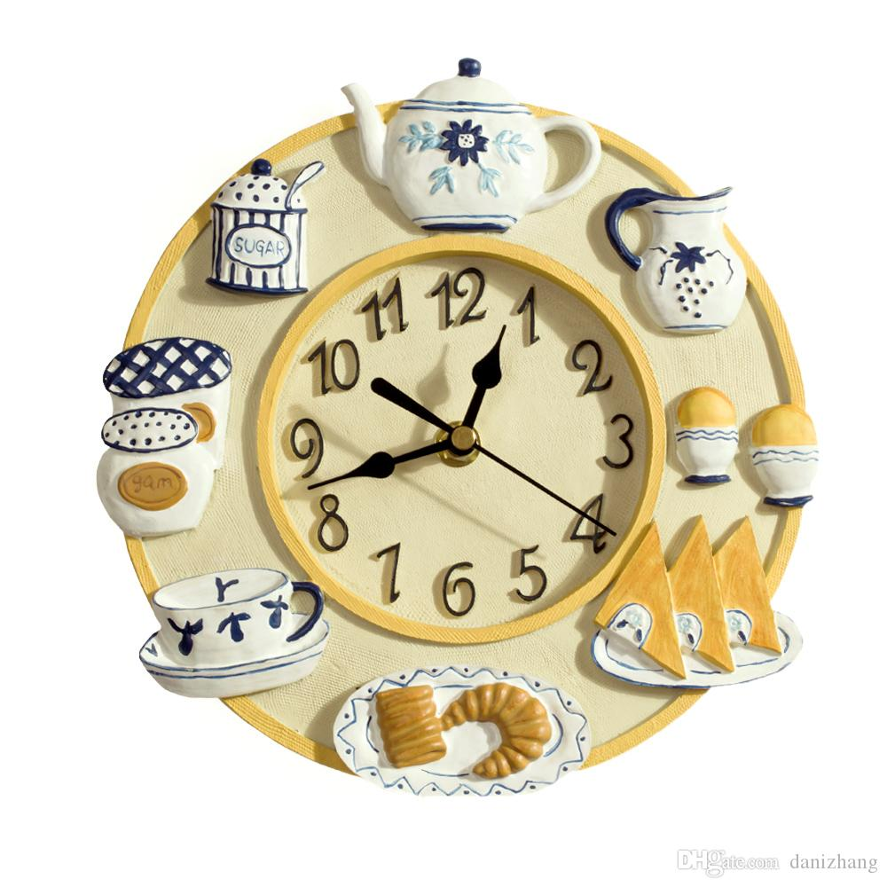 8 Inch Wall Clock Images - home design wall stickers