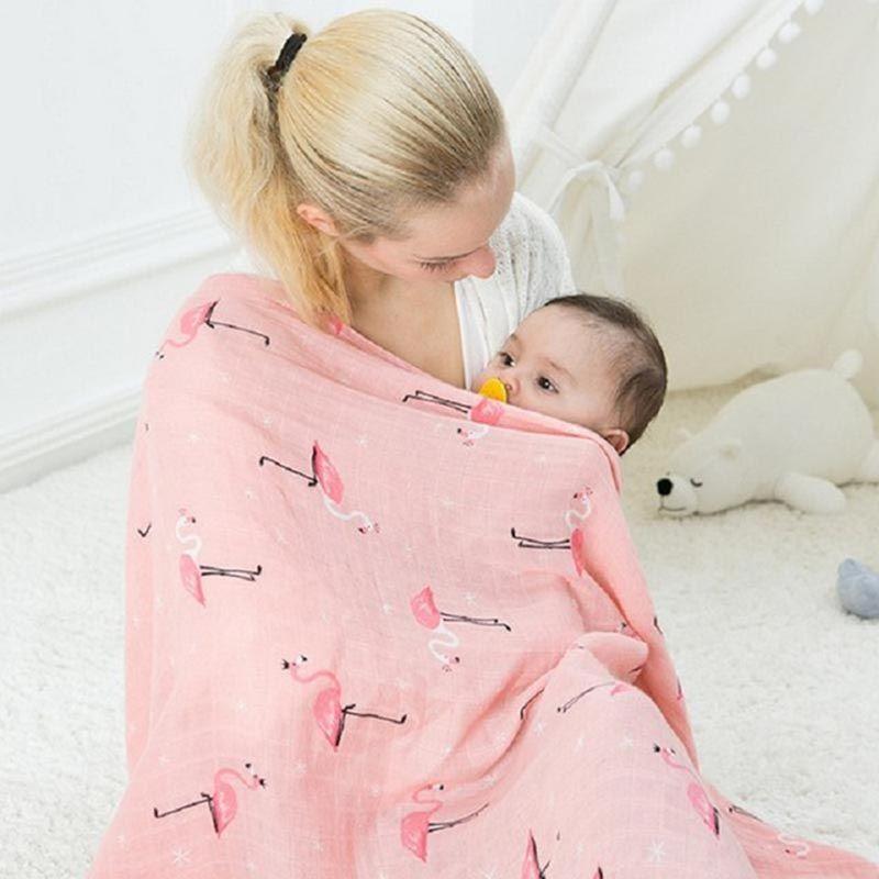 2e6cfebfc Muslin Wrap Newborn Infant Swaddle Blanket Baby Photography Wrap ...
