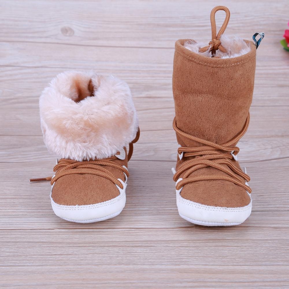 Schnee Sich Gummistiefel Schuhe Boy Winter Kinder Sohle Gummi Mädchen Warme Baby Geburtstagsgeschenk Weiche Schnüren Stiefel CdBeWxor