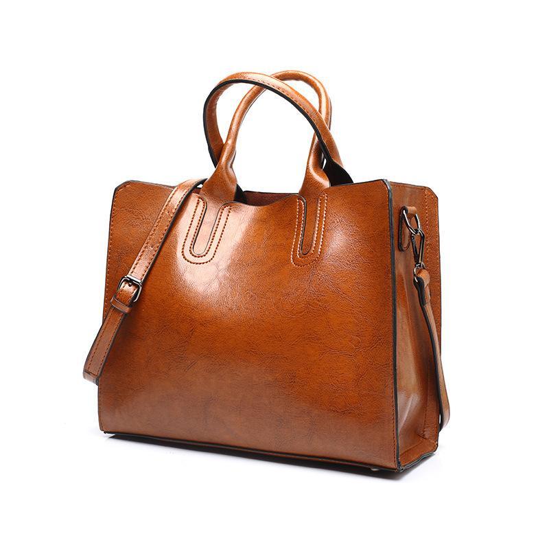 f7d4858291da Tagdot Brand Large Tote Bags PU Leather Fashion Shoulder Messenger ...