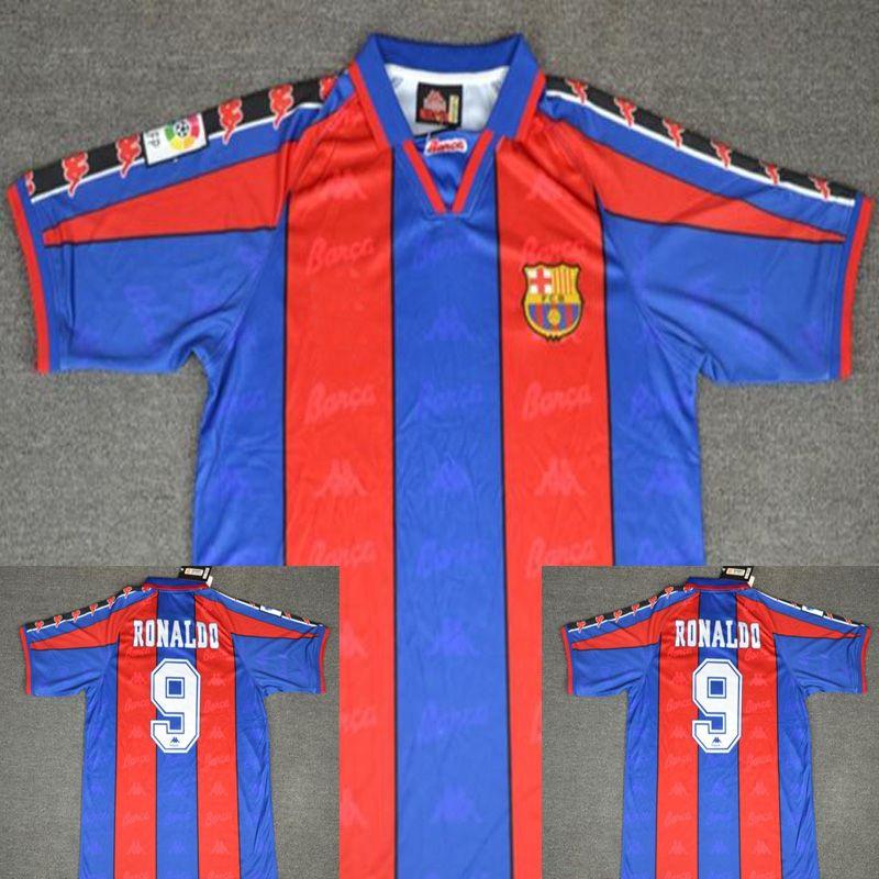 b9ef82f5952 2019 96 97 Ronaldo Home Jersey Retro Retro Soccer Jersey 1996 1997 Ronaldo  Classic Football Shirt Calcio MAGLIA Maillot Camisa De Futebol From  Malingjun1981 ...