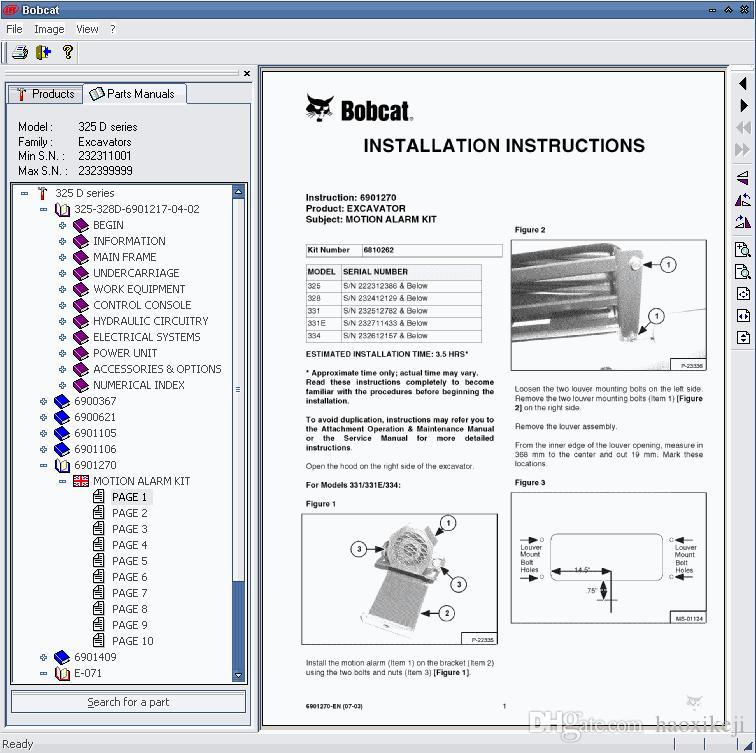 Bobcat Parts Online >> Bobcat Parts Catalog