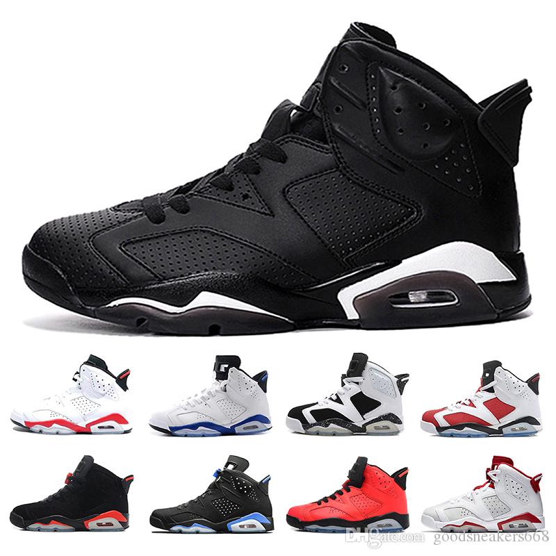 the latest 8eada bc5b4 NEW Basketball Shoes Infrared 6 6S Angry bull Carmine Infrared Oreo Hare  Carmine White Black cat Maroon 6s men Sport designer shoes Sneakers