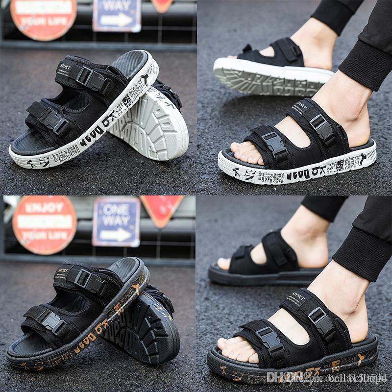 ebfebe06f5d988 Good Quality Brand Arizona Men s Flat Heel Sandals Buckle Summer ...