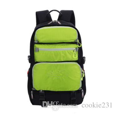Local Lion Brand New Fashion 1680D impermeable de alta calidad Ployester Travel Business Laptop Computer Backpack para hombres mujeres