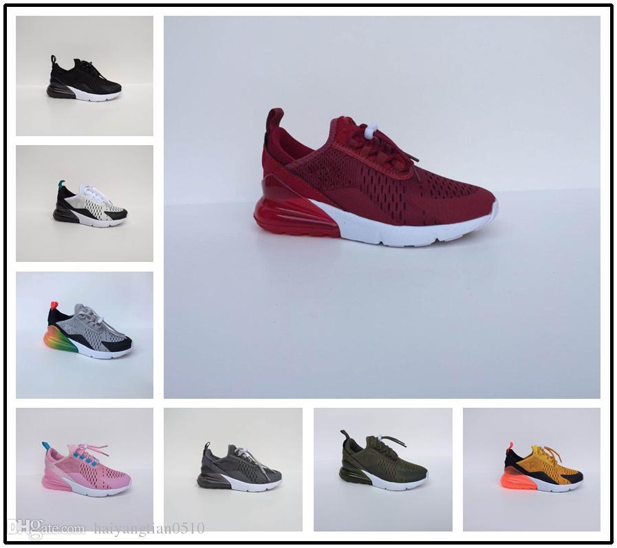 b91b105d8d317 Acheter Nike Air Max Airmax 270 Infant 270 Kids Chaussures De Course Noir  Dusty Cactus 27c Enfant En Bas Âge De Sport En Plein Air Marque De  Chaussures De ...