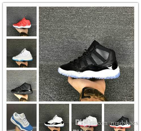 Kids Basketball shoes 11 Gym Red 11s Heiress Black Stingry Midnight Navy Bred Shoes 11s Mens CAP AND GOWN Womens outdoor Sneaker trainer