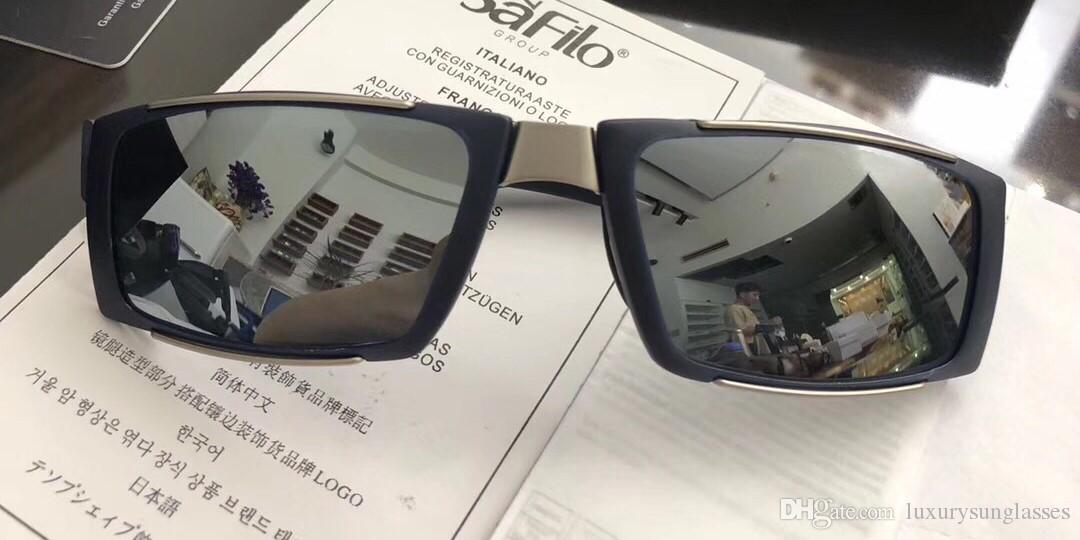 6aceb41bc4 Authentic 8438 Luxury Fashion Colour Film Men Sunglasses High-grade ...