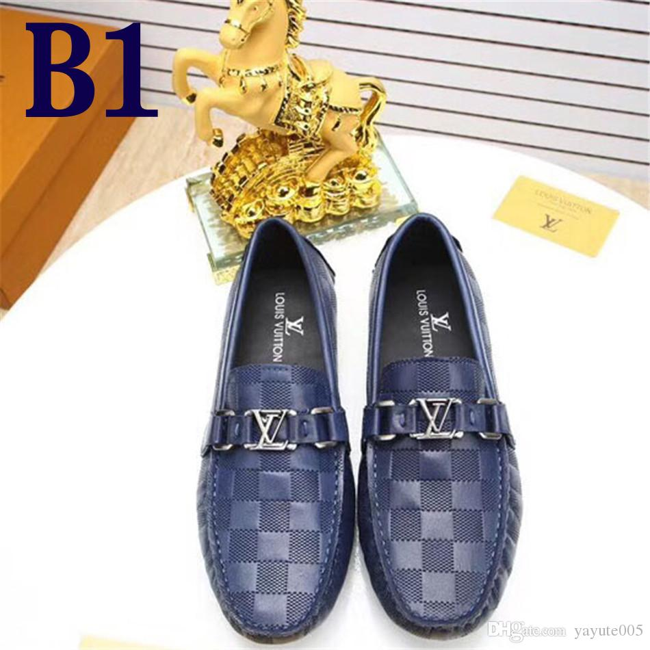 8eaae782c3a33b 2018 Promotion New Spring Men Loafers Party Wedding Shoes Europe Style Top Quality  Slippers Driving Moccasins With Original Box Boat Shoes Shoes For Men ...