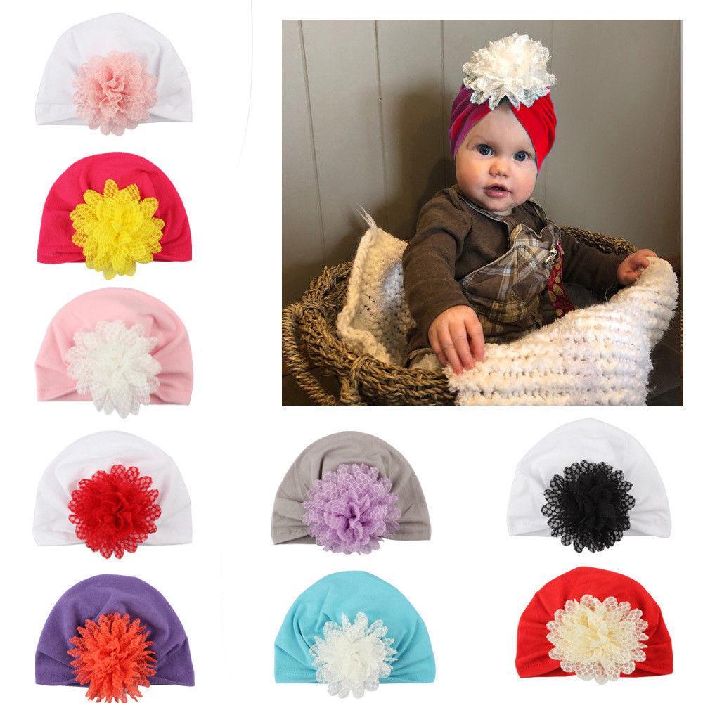 Acheter Mode Nouveau Né Toddler Enfants Bébé Garçon Fille Turban Coton  Bonnet Chapeau Chapeau D hiver De  34.09 Du Sugarher   DHgate.Com d0022b70079