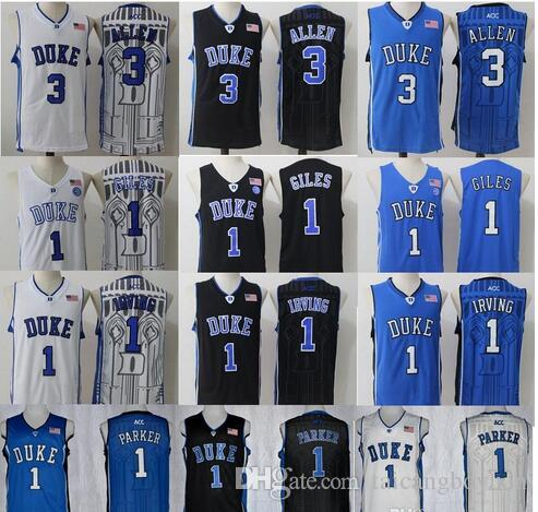 3ca3a9be512 ... jabari parker white player color photo basketball jersey 2018 duke blue  devils college jerseys 3 grayson