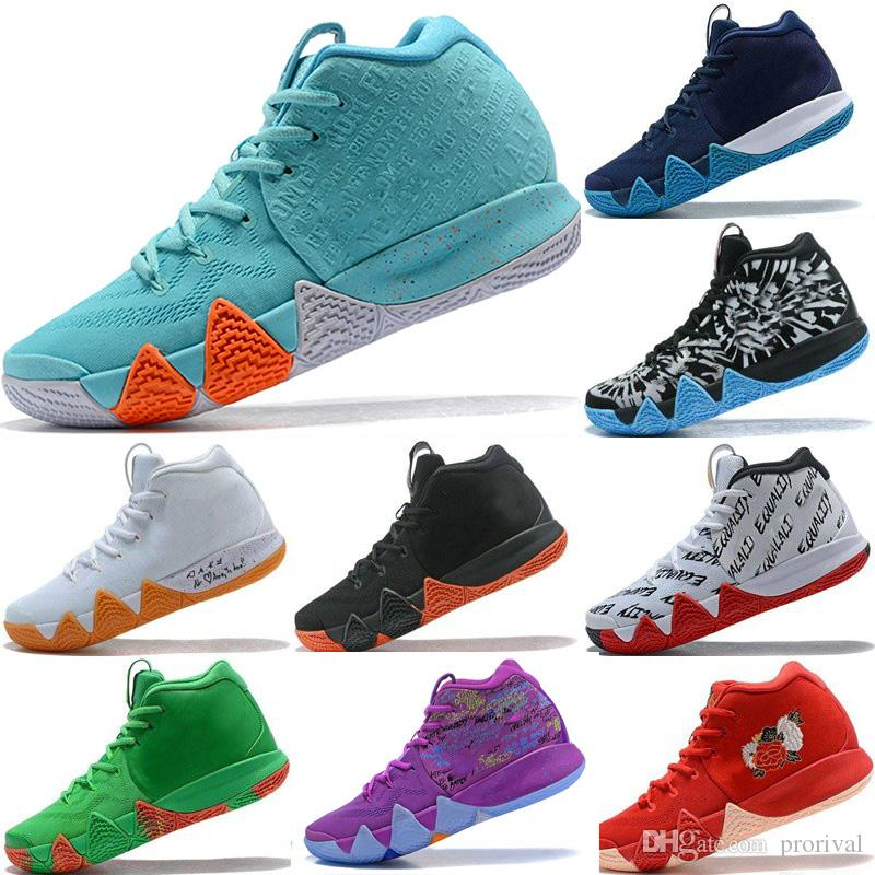 info for 330bd 100cb 2018 New Kyrie IV Shoes Power is Female Irving 4 Men Basketball Shoes 4s  Brand Athletic Shoe Sports Mens Trainers Sneakers Size 40-46