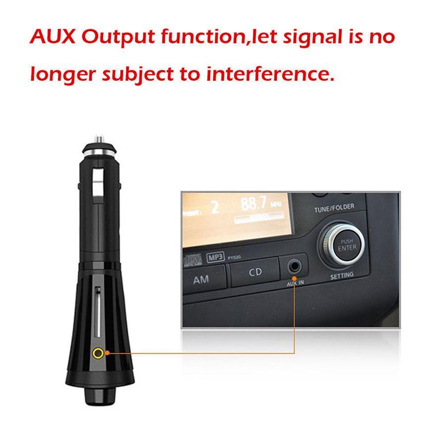Autoradio Stéréo Lecteur MP3 Chargeur USB Modulateur sans fil Transmetteur FM avec télécommande Écran LED T618