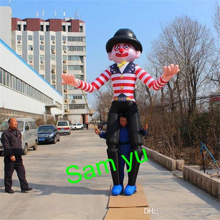 High quality cheaper price with LED by LED contorl for night Parade decoration illumination inflatable puppet costume