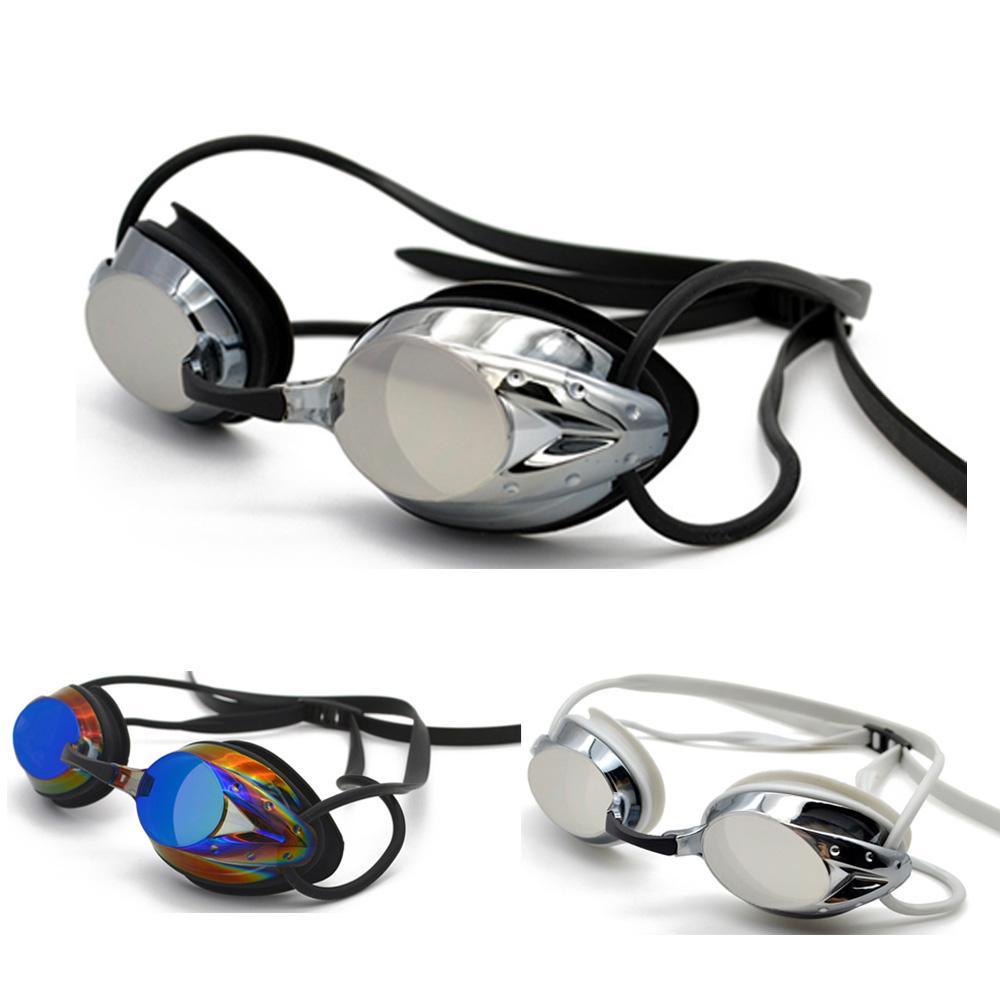 Compre Deepgear Profissional Homens Óculos De Natação Ampla Visão Revestido  Óculos De Natação Lente De Policarbonato Silicone Ocular Corrida Esporte  Óculos ... 20c5456da9