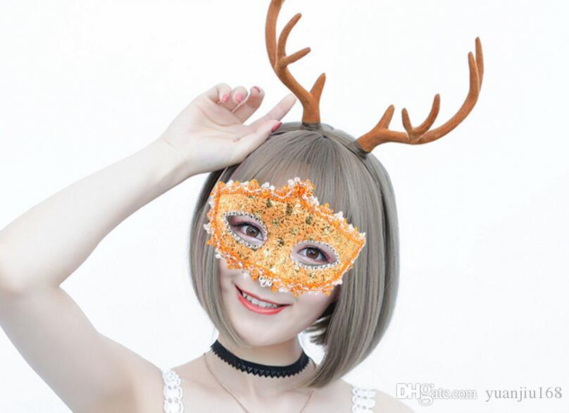 Princess lace mask, half face mask, masquerade, dance party, lovely veil, fashion sexy mask L244