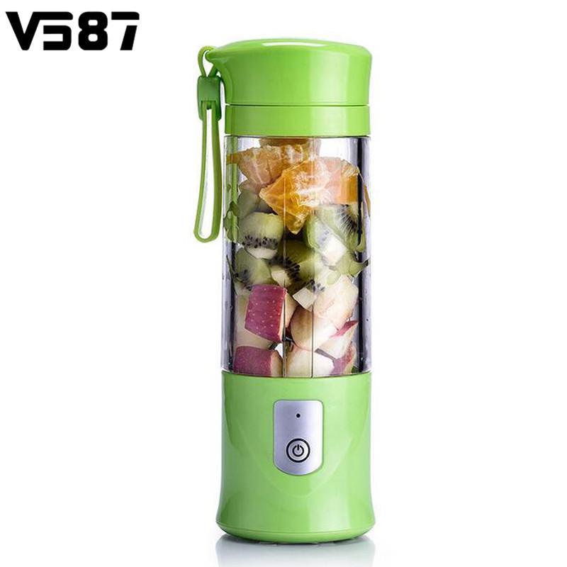 420ml Electrical Smoothie Blender Fruit Juicer Maker Handheld Juice Cup Usb  Powered Fruits Vegetables Reamer Intelligence