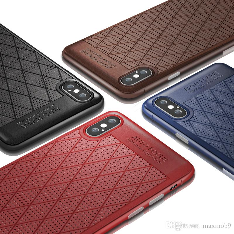 d97cf36401a Fundas De Móviles Funda De Piel Para Iphone XR XS MAX X 6S 7 8 Plus Funda  Para Teléfono Celular Para Samsung Galaxy S8 S9 S10 Plus Nota 8 9 Cubierta  De ...