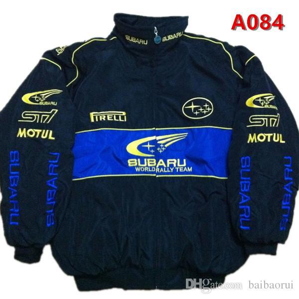 2018 Subaru Ricamo Cotton Nascar Moto Car Racing Team Suit