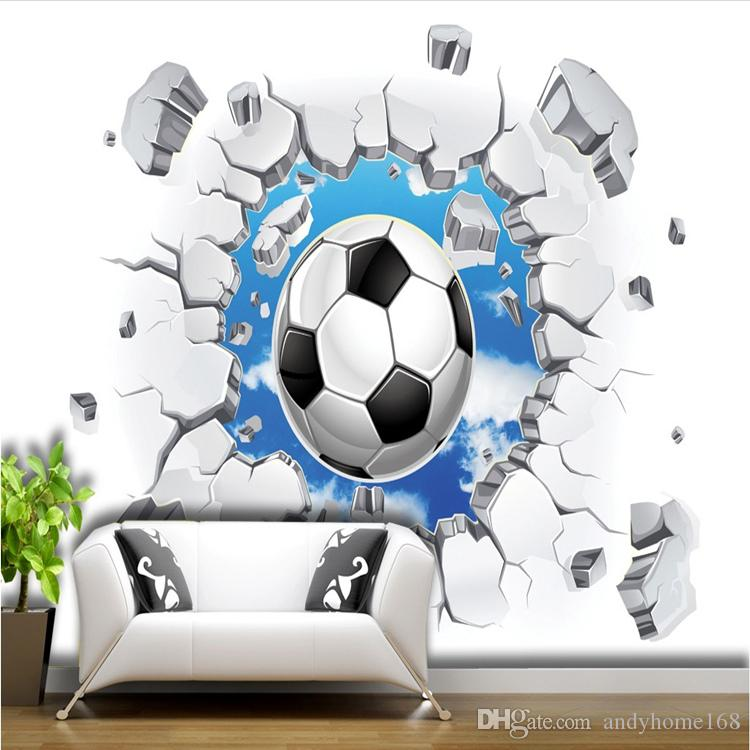 wholesale 3d soccer wallpaper sport background mural living roomwholesale 3d soccer wallpaper sport background mural living room sofa bedroom football tv backdrop custom any size wall mural wallpaper wallpapers high