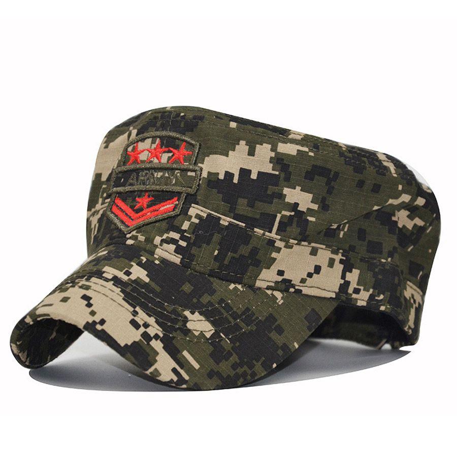 983040b9739 2018 New GERMAN ARMY FLECKTARN CAMO CAMOUFLAGE FIELD 3D Embroidery CAP HAT  Baseball Caps Custom Hats From Milknew