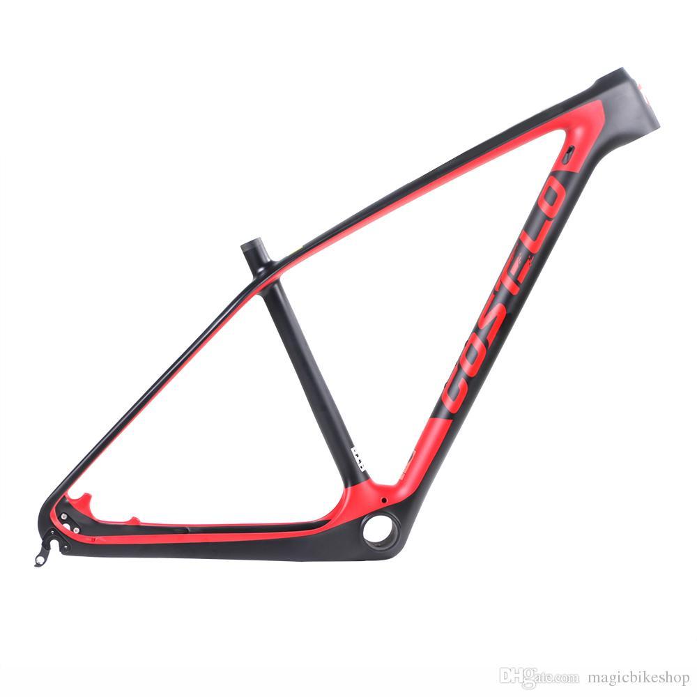 e565b2b7c Compre Barato Costelo SOLO 2 De Carbono Montanha MTB Bicicleta Quadro De  Carbono Torayca UD Fibra De Carbono Quadro De Bicicleta 650B 27.5er 29er  Quadro De ...