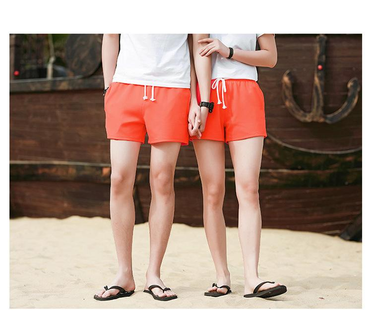 New AD Board Shorts Mens and womens Summer Beach Shorts Pants High-quality Swimwear Male Letter Life Lovers Swim