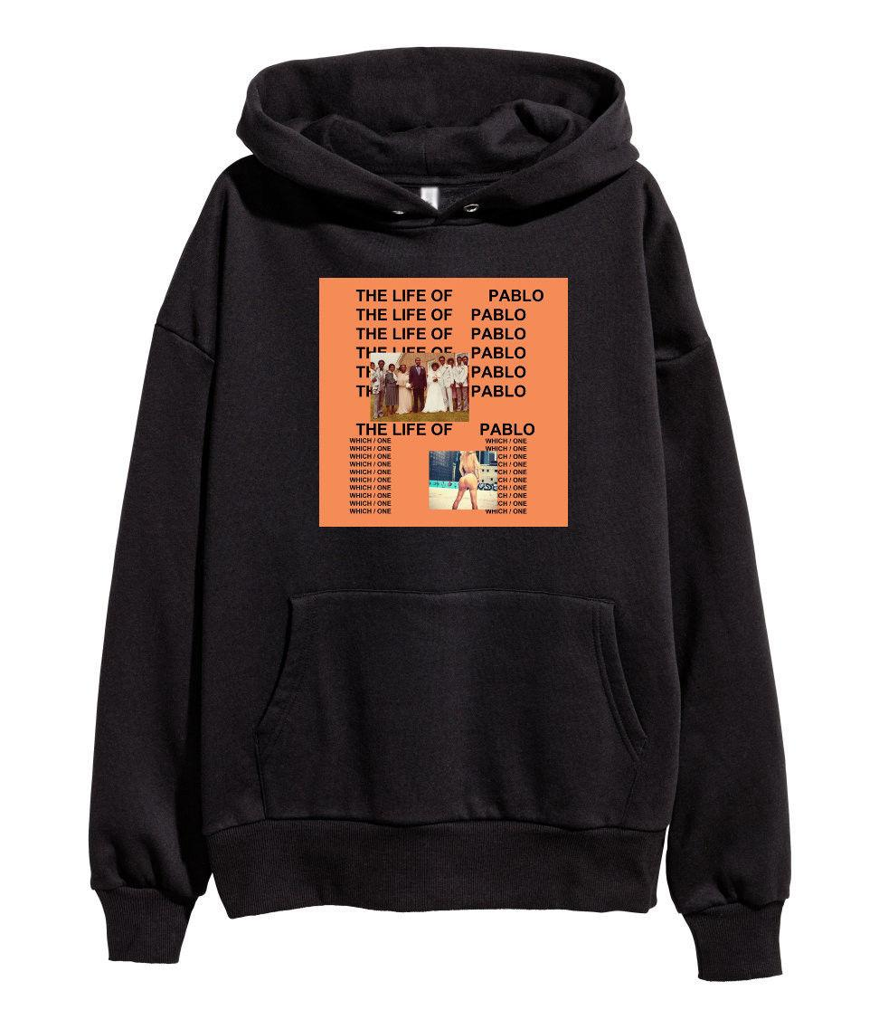 Compre Kanye West The Life Of Pablo Hoodie Hip Hop Rap Sudadera Ye Merch  Nuevo Negro A  22.85 Del Banwanyue8  79a48e1f725