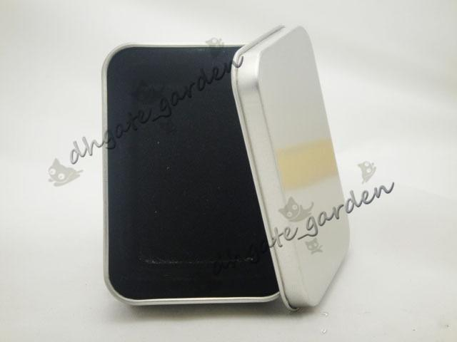 New Luxurious Silver Metal Tin Box For Oil Lighter Gift Set Case In Best Price