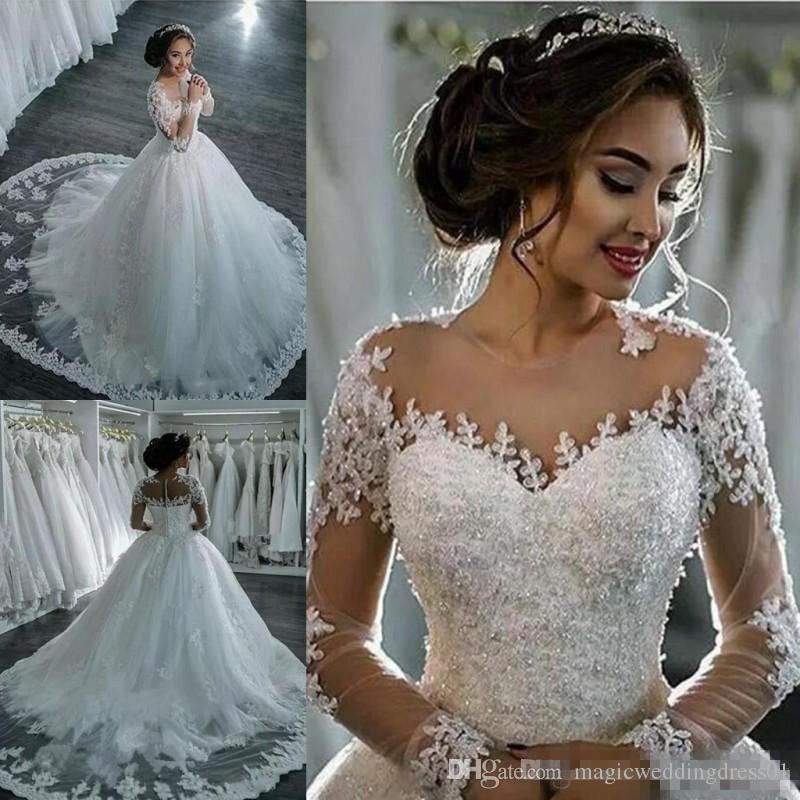Cheap Royal Blue White Wedding Dresses Pictures Discount Plus Size Trumpet Wedding  Dresses Bling 2399f4cfa04c