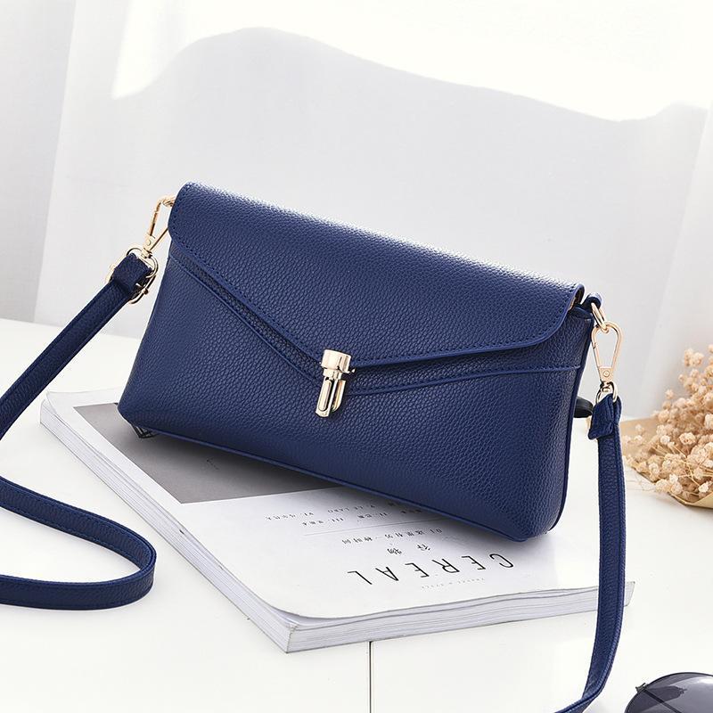 Luxury Handbags Women Bags Designer 2018 New Fashion Simple Bolsa Female  Mini Crossbody Bags Lock Buckle Handbag Shoulder Messenger Bags Bags  Handbags Women ... 7bd59a9158