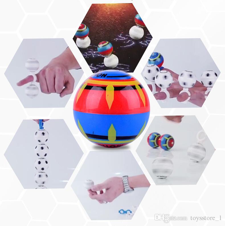Finger магнитный шарик Wallfire Magic Speed Индукционные Магнито Spheres Магнитный мигающий светящийся шар Finger Антистрессовая Spinner игрушки