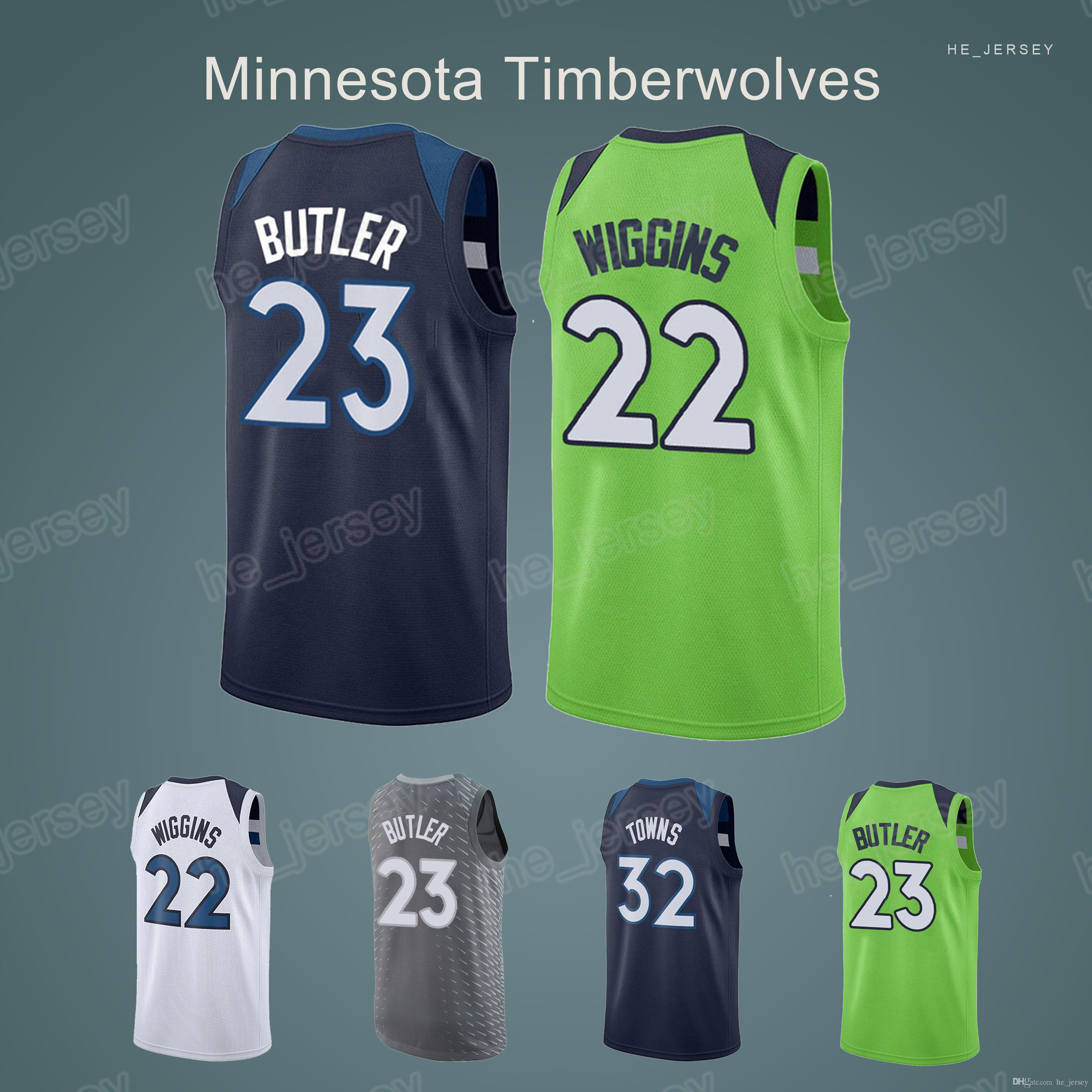 new product bac6f ede28 closeout minnesota timberwolves new jersey 1a40d e2845