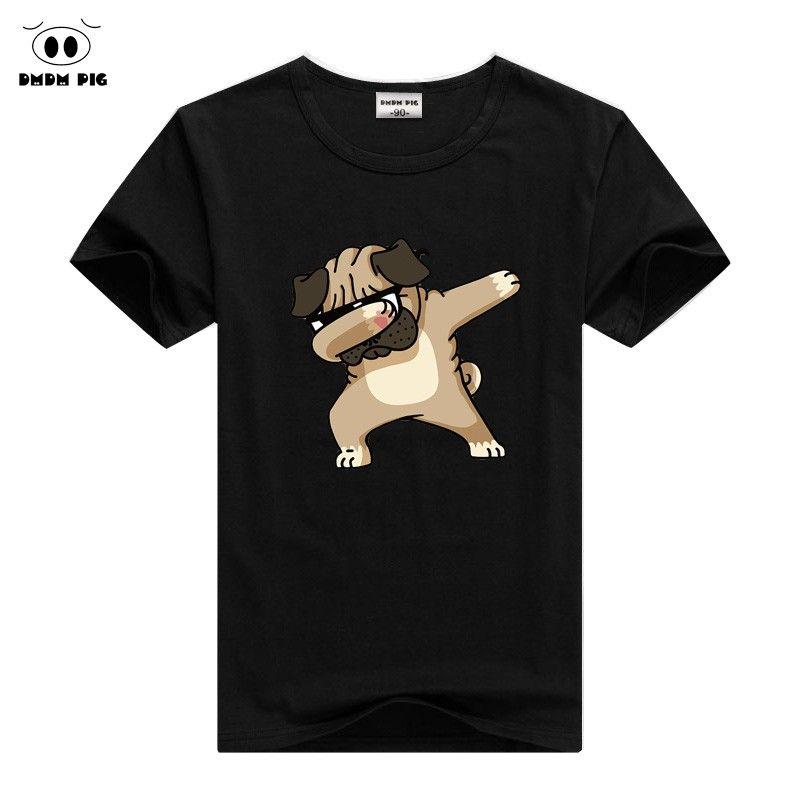 c8145a45b 2019 DMDM PIG Children Summer T Shirt Dabbing Funny Cartoon Short Sleeve T  Shirts For Boys Girls Tops Kids Tshirt 2 3 4 5 6 7 8 Years From Toy710, ...
