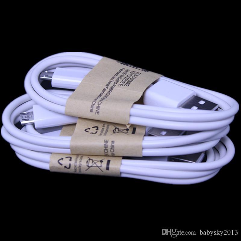 3FT مايكرو USB شاحن كابل سلك للحصول على سامسونج غالاكسي S3 S4 S6 S7 حافة ملاحظة 2 4 اتش تي سي إل جي الروبوت الهاتف
