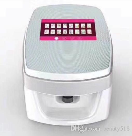 3D مسمار الفن الرقمي طابعة الرسم الأظافر الرقمية زهرة الفن الطباعة صالون آلة تعمل باللمس واي فاي USB