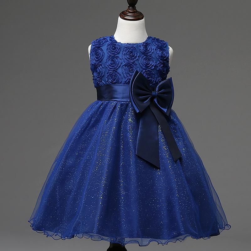 207392c56c Big Rose Princess dress, Children s dress, Children s dress, Birthday,  Pompong Children s dress New style